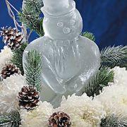 Snowman Ice Sculpture Mold